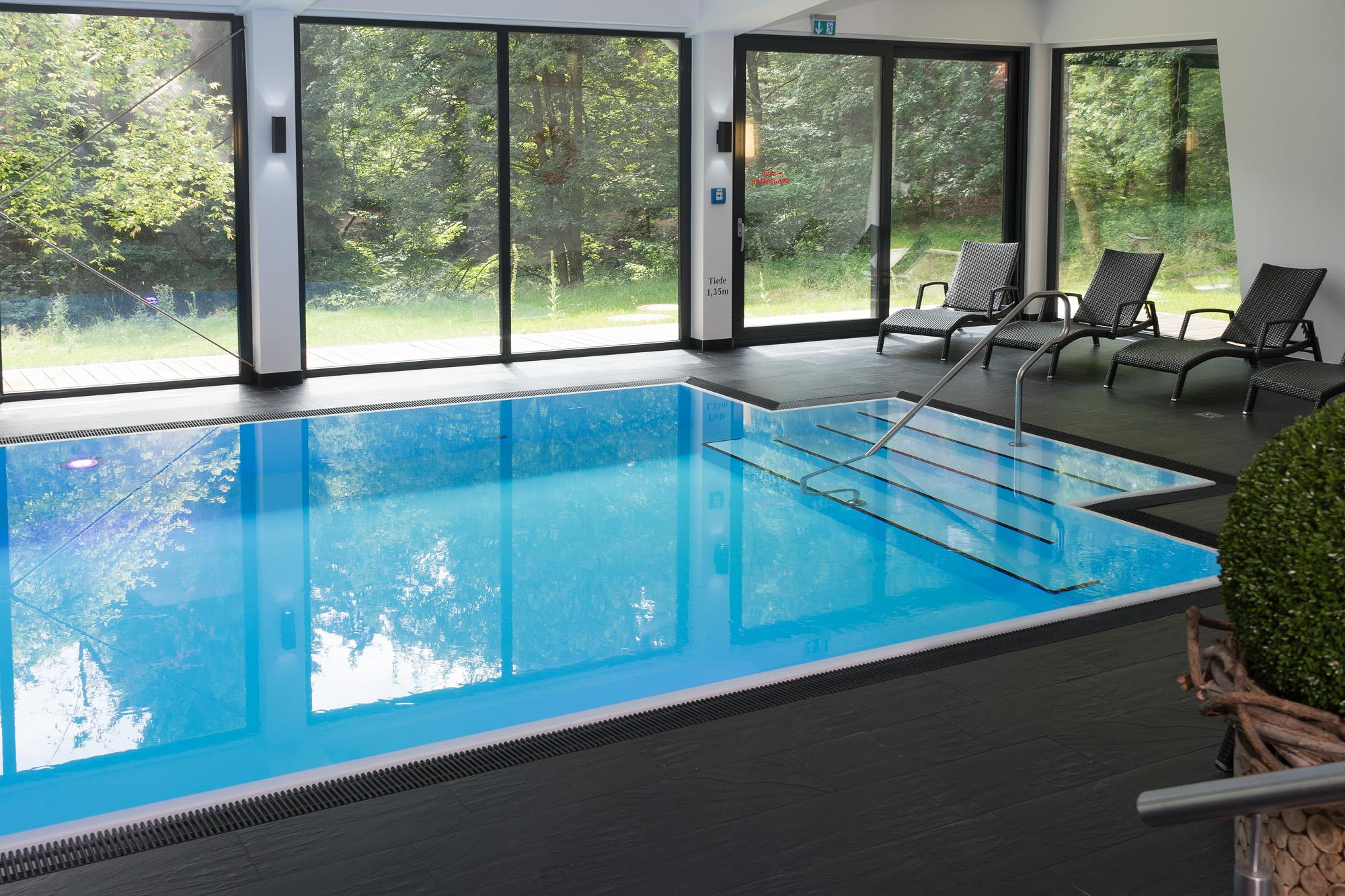 Hotel Schwimmbecken allerdings als Custom Veltmann Pool