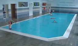 Segmentbecken Hallenschwimmbad